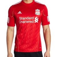 adidas Liverpool Home Jersey 10/11