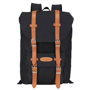Leather College Fashion Bag Sport Backpack Daypack Laptop Travel Fashion Bag