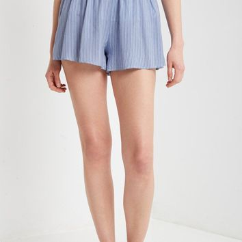 Mallory Striped Shoft Shorts