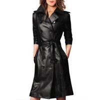 The Leather Trench