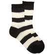 Striped Lace Crew Socks