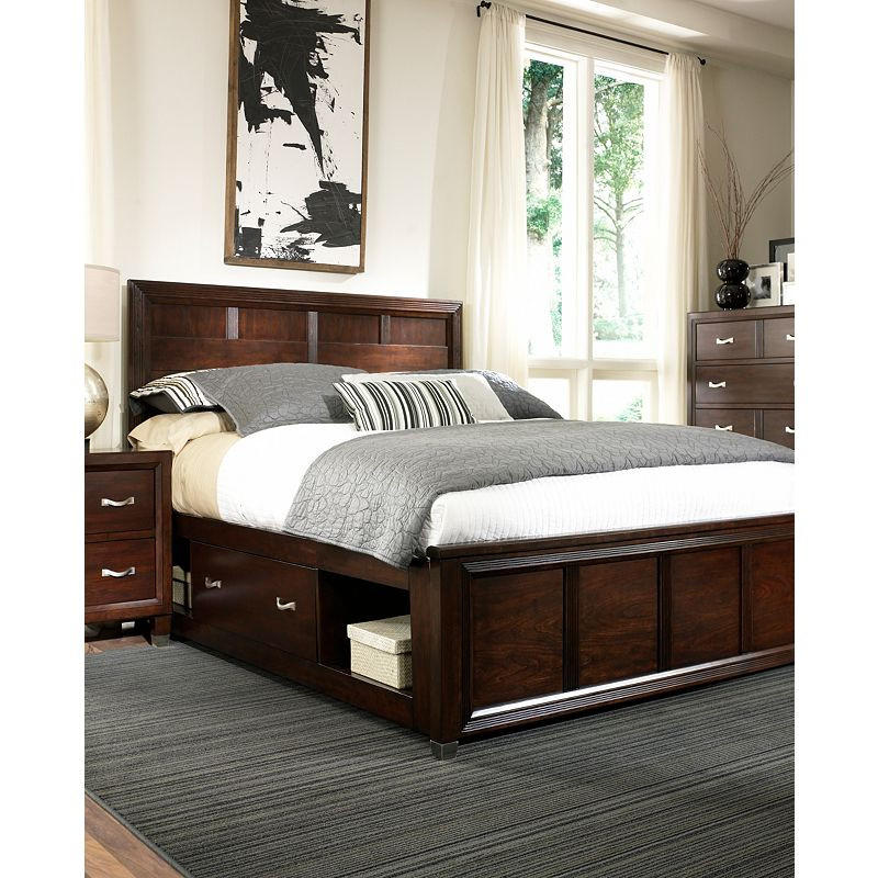 eastlake 2 queen storage sleigh bed by from knight furniture