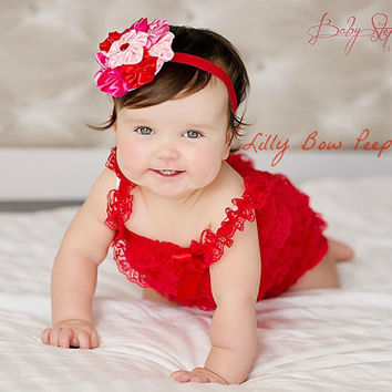 Valentine S Day Outfit Red Lace Petti From Lillybowpeep On