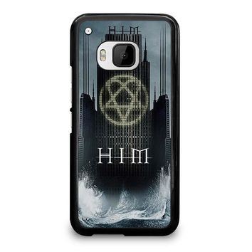 HIM BAND HEARTAGRAM HTC One M9 Case Cover