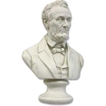Lincoln Bust Wearing Suit US American President Small 12H - 7633