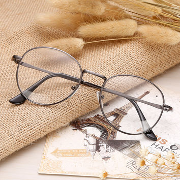 Vintage Unisex Mirror Metal Glasses [9390844428]