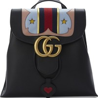 GUCCI - Marmont star leather backpack | Selfridges.com