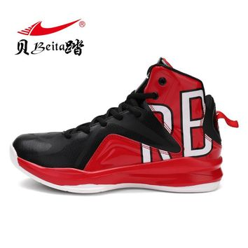 Beita Men Basketball Shoes 2017 Male Ankle Boots Anti-slip Outdoor Sport Sneakers Men Athletic Shoes High-Top Rubber Sneakers