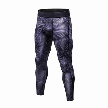 High Quality Men Quick Dry Pants Slim Fit Skinny Casual Trousers Bodybuilding Fitness men Compression Active Pants