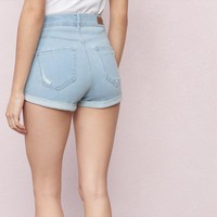 Virginia Bleach Retro High Waist Short