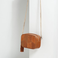 TASSEL DETAIL CROSS-BODY BAG