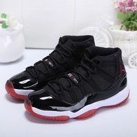 Air Jordan 11 Retro Bred AJ11s Sneakers - Best Deal Online