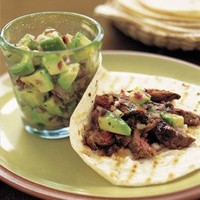 Skirt Steak Fajitas with Avocado Salsa | Williams-Sonoma