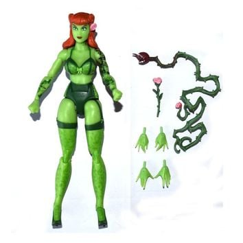 """Batman Dark Knight gift Christmas DC Collectibles Comics Batman Villian Ivy Poison 6"""" Loose Action Figure TOY XMAX GIFT FREE SHIPPING AT_71_6"""