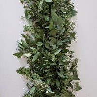 Fresh Seeded Eucalyptus & Baby Blue Eucalyptus Garland