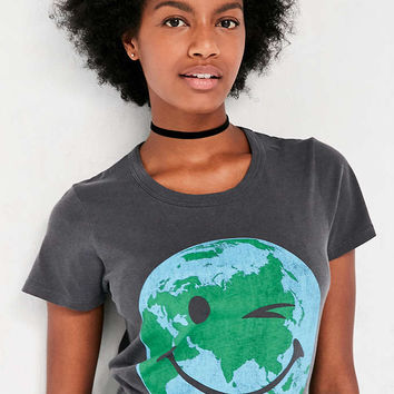 Junk Food World-Wide Wink Tee - Urban Outfitters