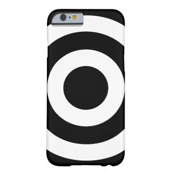 Black and White Circles - iPhone 6 Case