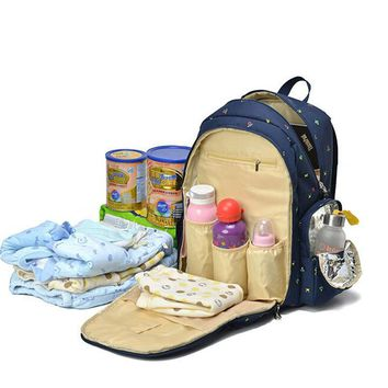 Large Capacity Mother Mummy Mom Baby Bags Nappy Diaper Backpacks For Travel Multifunction Shoulder Bags Rucksack Mochilas 120206