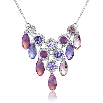 Regal Style Swarovski Elements Crystal Necklace