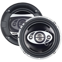 Boss Audio P65.4C Phantom Series 6.5 Car Speakers W/Electroplate Injection Cone