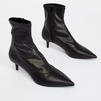 Marilyn Kitten Heel Boot