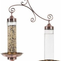 Perky-Pet 389 Copper Sip and Seed Wild Bird Feeder