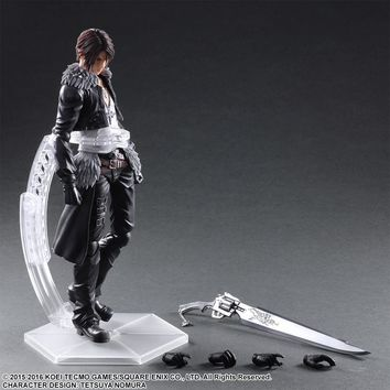 Paly Arts Kai FINAL FANTASY DISSIDIA Squall Leonhart PVC Action Figure Collectible Model Toy 25cm KT3639