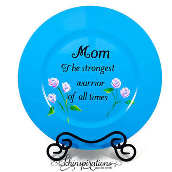 Mother's Day Gift, Display Plate, Mom birthday gift