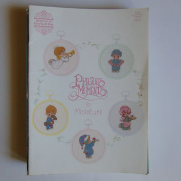 Designs by Gloria and Pat Precious Moments in Miniature 1989