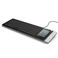 Omnio WOW-KEYS Full-sized, QWERTY PC or MAC Keyboard for iPhone (000WOWKEYS)