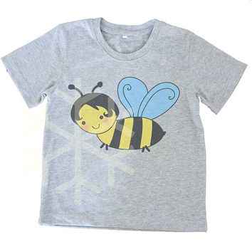Bee shirt toddler insect Kids tshirts -3/4 sleeve-Toddler tees-Children shirt -Cute Toddler shirts - Toddler Boy shirt - Toddler Girl shirt