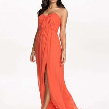 Bandeau Drape Dress, NLY Eve