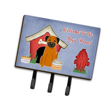 Dog House Collection Border Terrier Leash or Key Holder BB2793TH68