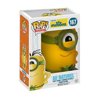 Au Naturel Minions POP! Movies #167 Vinyl Figure