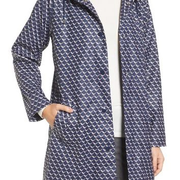 Joules Right as Rain Longline Waterproof Hooded Coat | Nordstrom