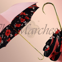 Marchesato Floral Multicolor Umbrella