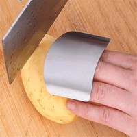 Loyally Elegant  Slicing Cutting Protector Stainless Steel Sheild