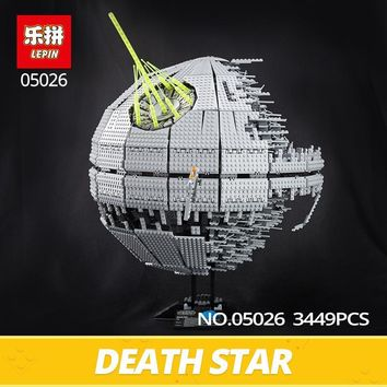 Star Wars Force Episode 1 2 3 4 5 LEPIN  Toys  Death The second generation 05026 3449pcs Building Block Bricks 10143 Compatible educational Child DIY Toys AT_72_6