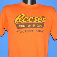 80s Reese's Peanut Butter Cup Two Great Tastes t-shirt Medium