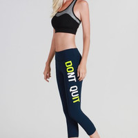 NikiBiki Dont Quit Do It Yoga Pants