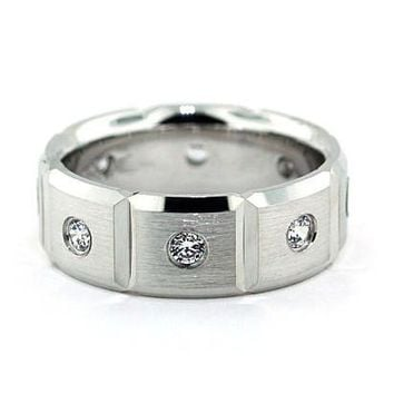 Men's Diamond Wedding Band - Boxed
