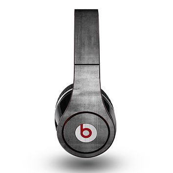The Grungy Gray Panel Skin for the Original Beats by Dre Studio Headphones