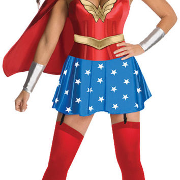 Women's Costume: Wonder Woman Deluxe | Small/Medium