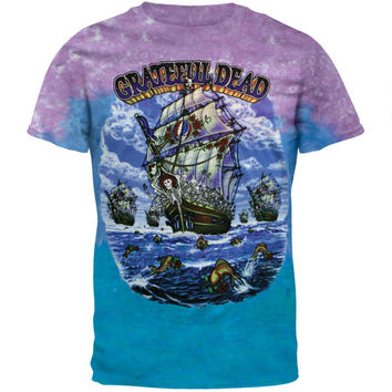 Grateful Dead - Ship Of Fools Tie Dye T-Shirt