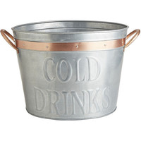 Fritz Galvanized Beverage Tub