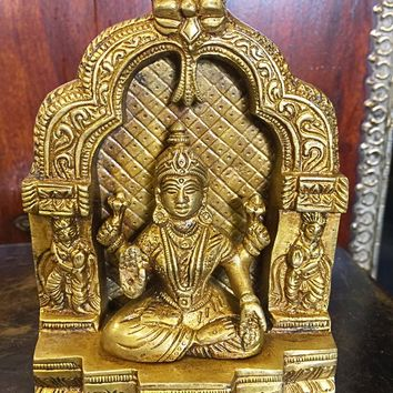 Lakshmi Brass Statue 6 Inch: Amazon.ca: Home & Kitchen