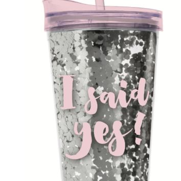 I said Yes 22 oz. Tumbler
