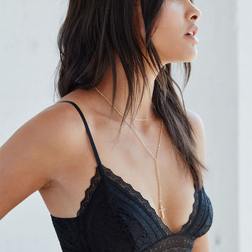 Me To We Lace Triangle Bralette at PacSun.com