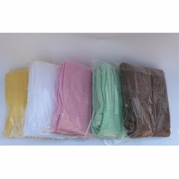 120 x 150cm Large Cotton Air Conditioning Baby Sleeping Cover Blankets Towel Soft Light Green
