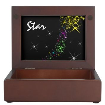 Christmas Star Memory Box